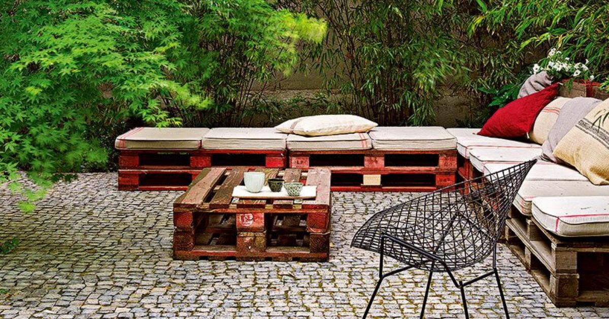 Comment faire un salon de jardin en palette ?